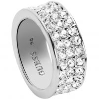 Femmes Guess Acier inoxydable G ROUNDS RING SIZE L.5