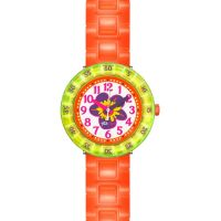 Enfants Flik Flak Chewy Orange Montre